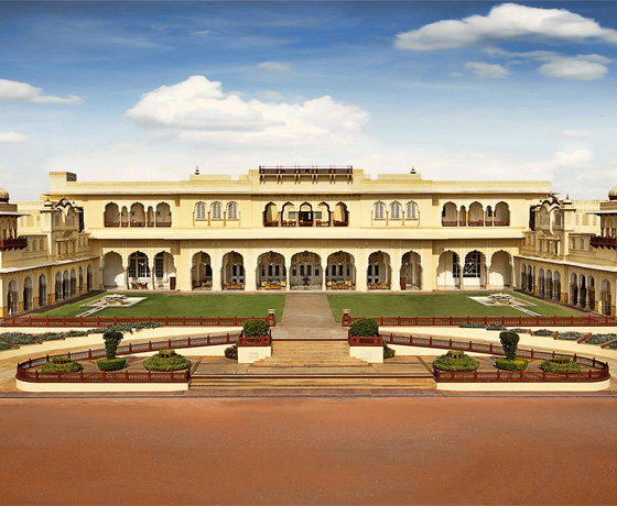 Live like a Maharaja at the Taj Rambagh Palce, Jaipur