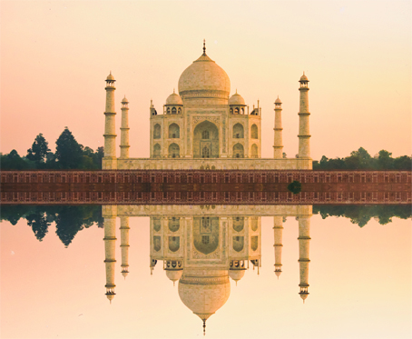 The Taj Mahal, Agra, a legacy of love