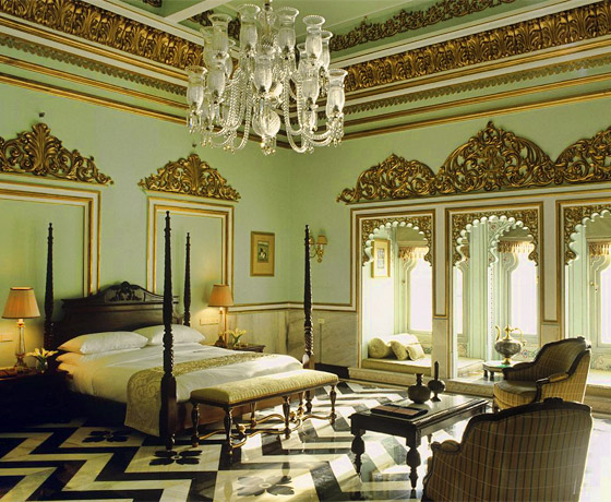 The most romantic stay in Rajasthan at a Lake facing room at the Taj Lake Palace, Udaipur