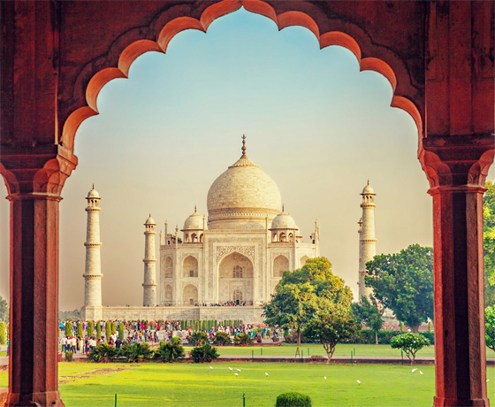 The Taj Mahal, Agra, a story of true love