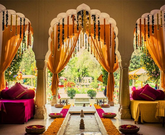 Pre wedding shoot and mehendi celebrations are also something we can do for you