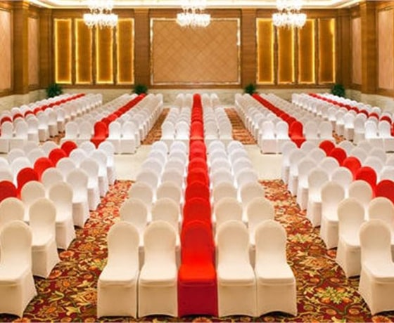 Conference venue at the Lalit in Jaipur
